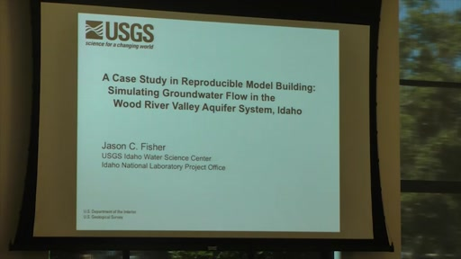 A Case Study in Reproducible Model Building: Simulating Groundwater Flow in the Wood River Valley Aquifer System, Idaho