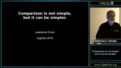 Comparison is not simple, but it can be simpler