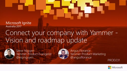 Connect your company with Yammer – a vision & roadmap update