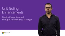 Unit testing enhancements in Visual Studio Enterprise 2017