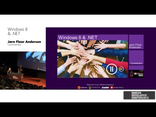 Windows 8 & .NET