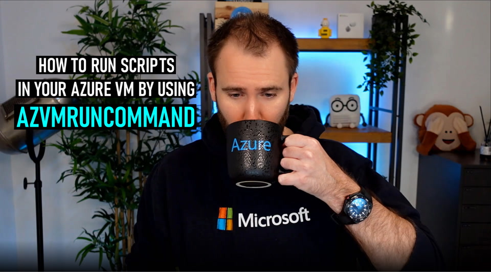 How to run scripts in your Azure VM by using Run Command
