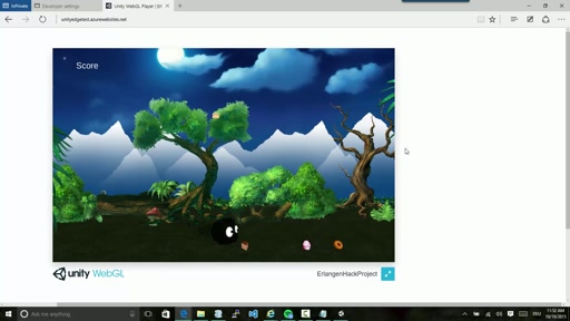 Host your Unity Games on Azure without Plugins - step by step