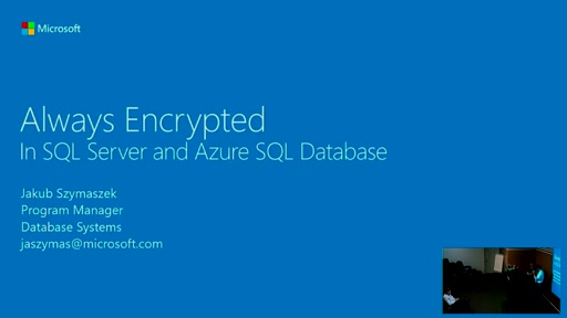 Always Encrypted in SQL Server and Azure SQL Database