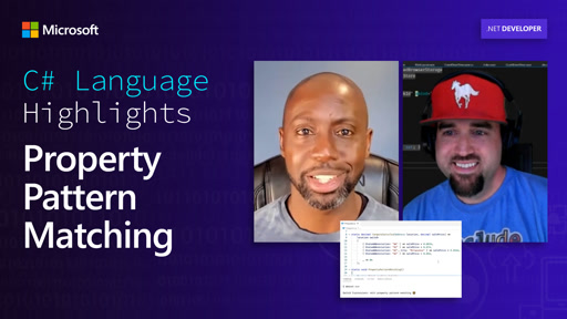 C# Language Highlights: Property Pattern Matching