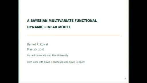 A Bayesian Multivariate Functional Dynamic Linear Model