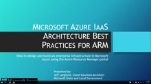 Microsoft Azure IaaS Architecture Best Practices for ARM