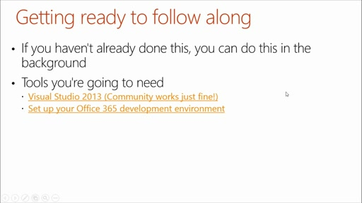 SharePoint Online Development for Office 365: (01) Introduction to Office 365 Development