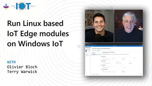 Run Linux based IoT Edge modules on Windows IoT