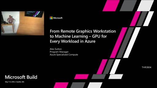 From Remote Graphics Workstation to Machine Learning – GPU for every workload in Azure