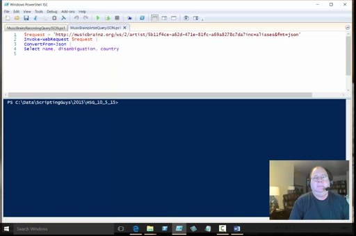 PowerShell 5 - Working with JSON