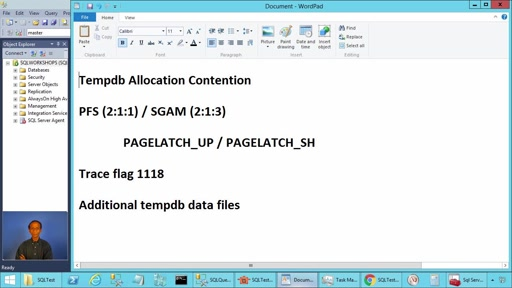 Tempdb Allocation Contention in SQL Server