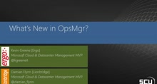 What's New in OpsMgr 2016?