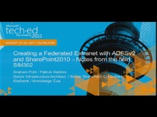 Creating a Federated Extranet with ADFSv2 and SharePoint2010 – Notes from the field
