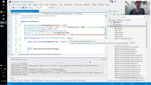 Learn Roslyn Now - E07 - VisualStudioWorkspace