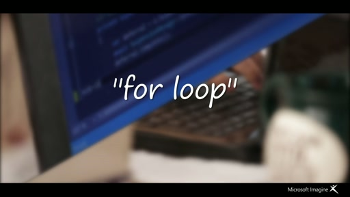 Microsoft Imagine India Student Video For Loop
