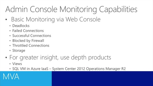 (Module 4) Monitoring an Azure Database