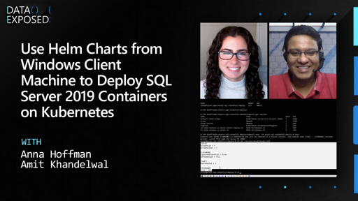 Use Helm Charts from Windows Client Machine to Deploy SQL Server 2019 Containers on Kubernetes