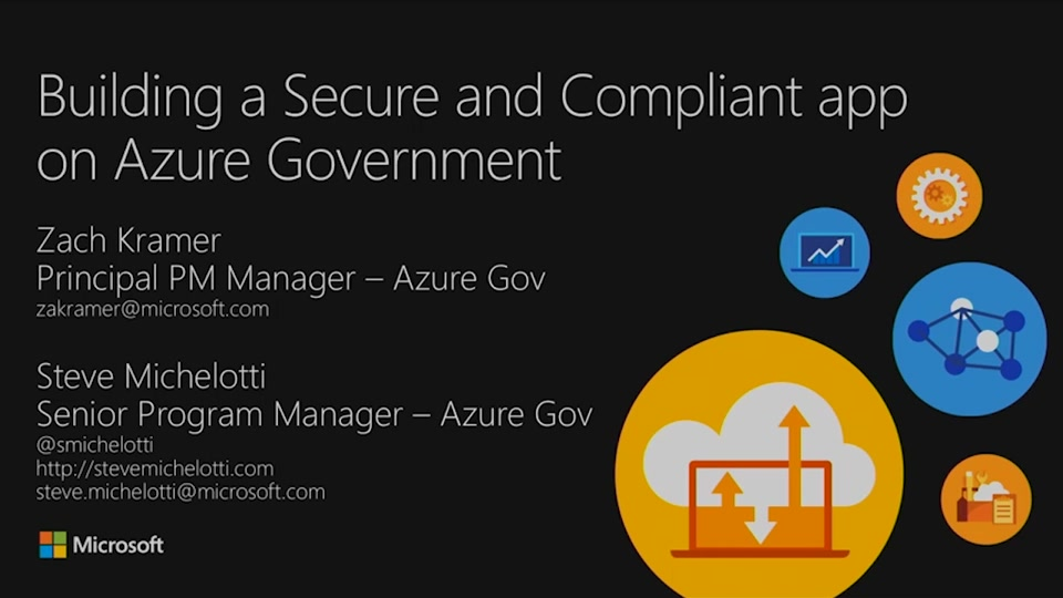 Building a Secure and Compliant app on Azure Government