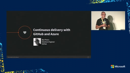 Continuous delivery with GitHub and Azure