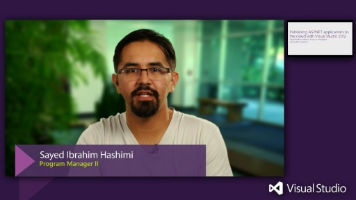 Publishing ASP.NET applications and databases to the Cloud with Visual Studio 2012
