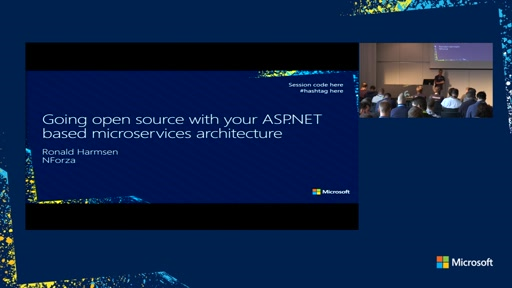 Going open source with your ASP.NET based microservices architecture