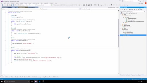 Community Content Presenter Training: Xamarin Session 1 Demo 4