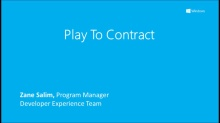 Play To Contract