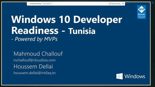 Windows 10 Developer Readiness [Tunisia]