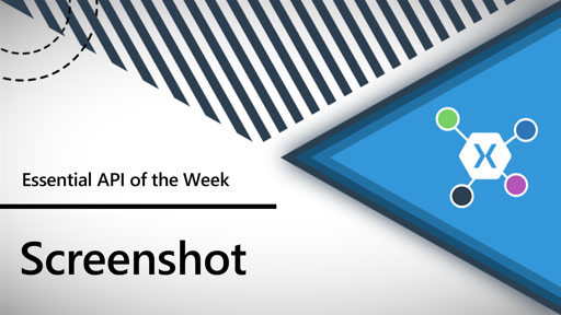 Screenshot (Xamarin.Essentials API of the Week)
