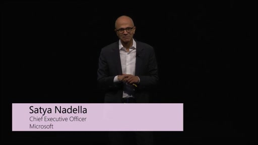 Satya Nadella's Singapore Developer Day Keynote