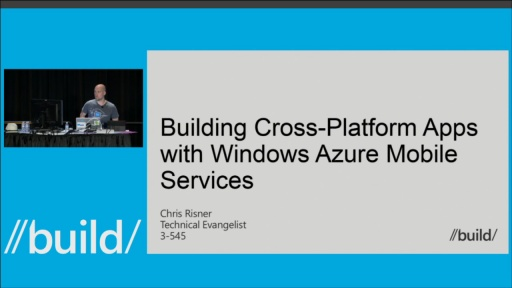 Building Cross-Platform Apps with Windows Azure Mobile Services
