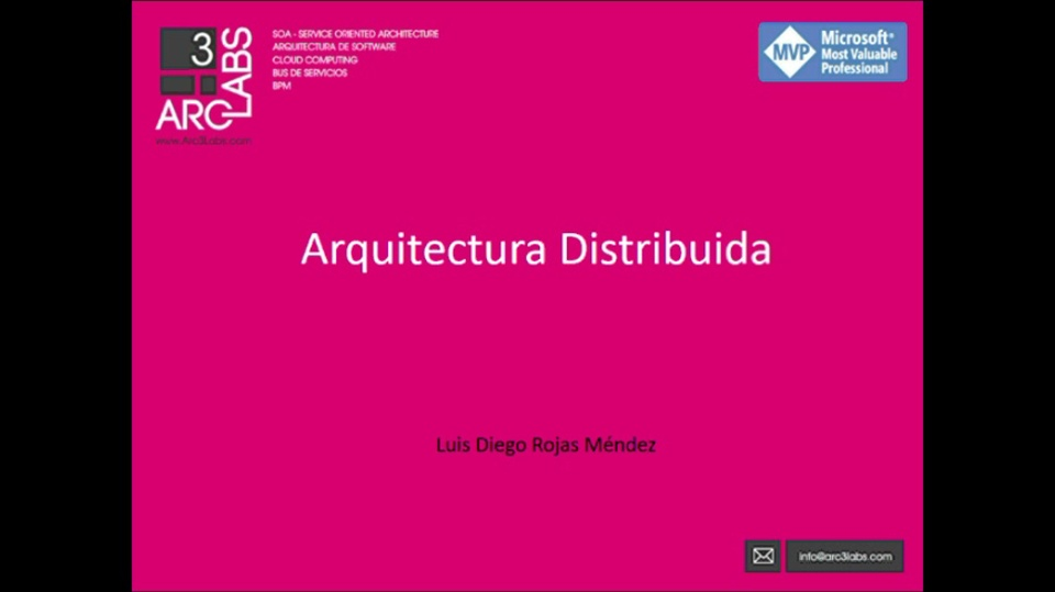 Visual Studio para Arquitectos de Software 2: Arquitectura Distribuida