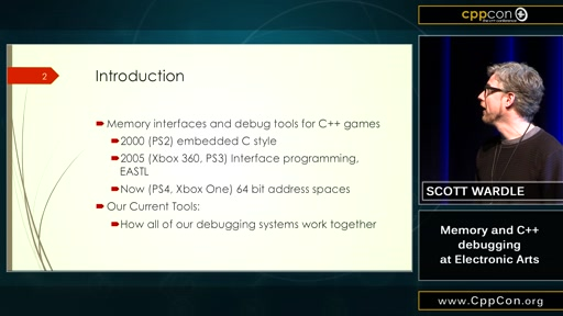 Memory and C++ debugging at Electronic Arts