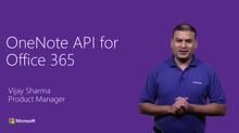 Connecting to OneNote in the Cloud with Office 365 APIs