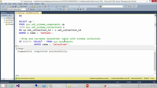 Using XML in SQL Server and Azure SQL Database: (04) Working with Typed XML
