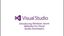 Introducing Windows Azure Websites for Visual Studio Developers