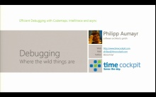 Katapult.10 – Visual Studio 2013 Launch - Efficient debugging with Codemap, IntelliTrace & async Code