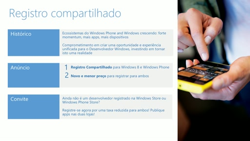 Explicando o Registro Compartilhado entre a Windows Store e Windows Phone Store