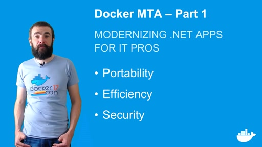 Modernizing .NET Apps with Docker, for IT Pros. Part 1.