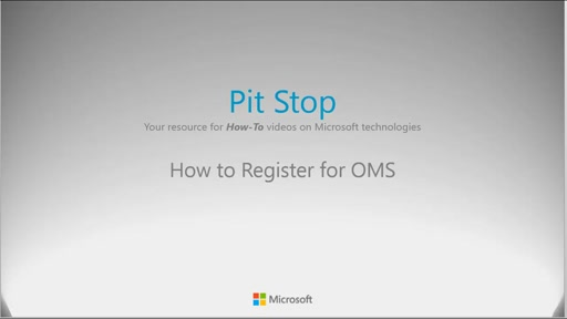 How to register for OMS