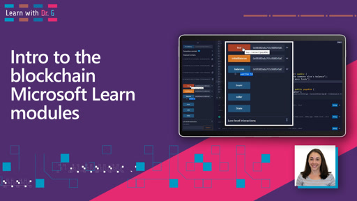 Intro to the blockchain Microsoft Learn modules