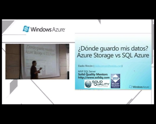 Nivel de datos con Windows Azure Storage y SQL Azure