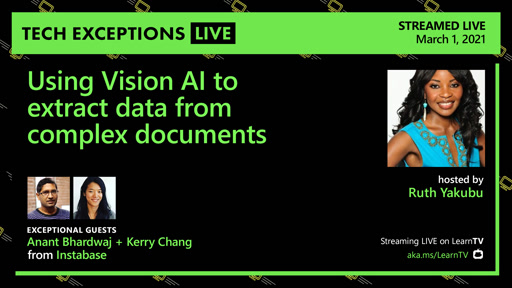 Using Vision AI to extract data from complex documents