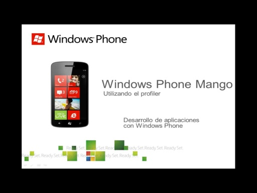 Utilizando el Profiler de Windows Phone