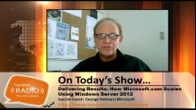 TechNet Radio: Delivering Results - How Microsoft.com Scales Using Windows Server 2012