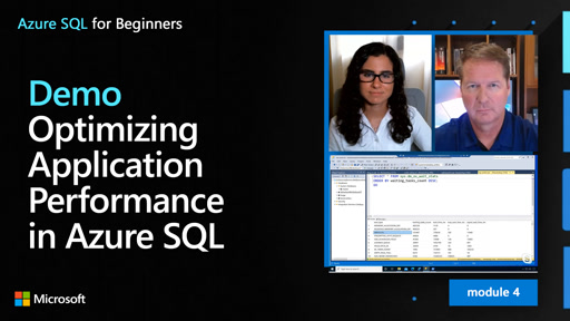 Demo: Optimizing Application Performance in Azure SQL (41 of 61)
