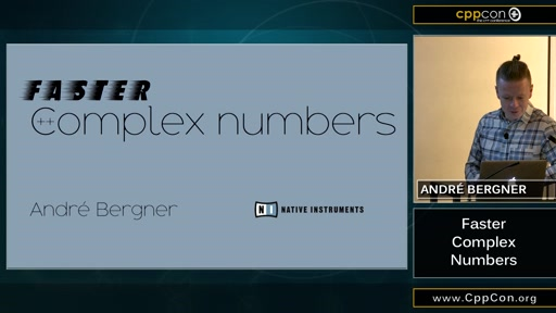 Faster Complex Numbers