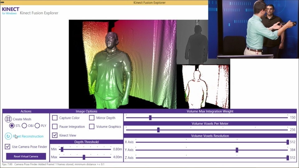 Programming Kinect for Windows v2: (07) Advance Topics