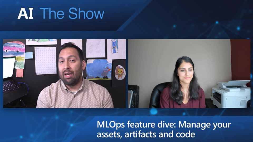 MLOps feature dive: Manage your assets, artifacts and code